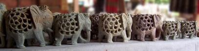 Elephants in stone