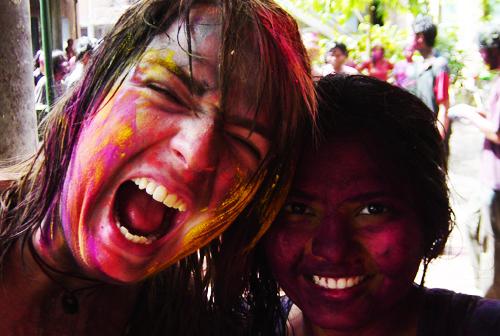 holi, colors, people, festival, India